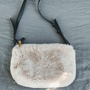 Topshop Soft Fur Crossbody